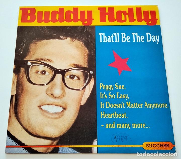 VINILO LP DE BUDDY HOLLY. THAT'LL BE THE DAY. 1989. (Música - Discos - LP Vinilo - Rock & Roll)
