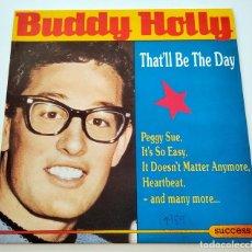Discos de vinilo: VINILO LP DE BUDDY HOLLY. THAT'LL BE THE DAY. 1989.. Lote 288152013