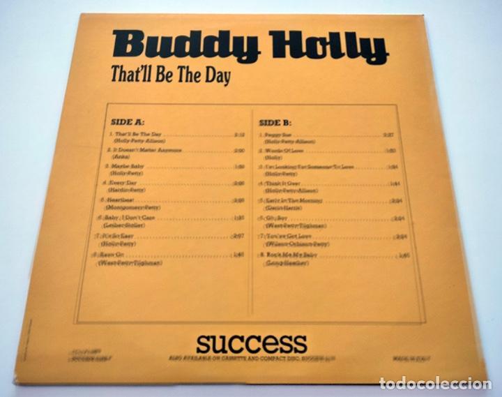 Discos de vinilo: VINILO LP DE BUDDY HOLLY. THATLL BE THE DAY. 1989. - Foto 2 - 288152013