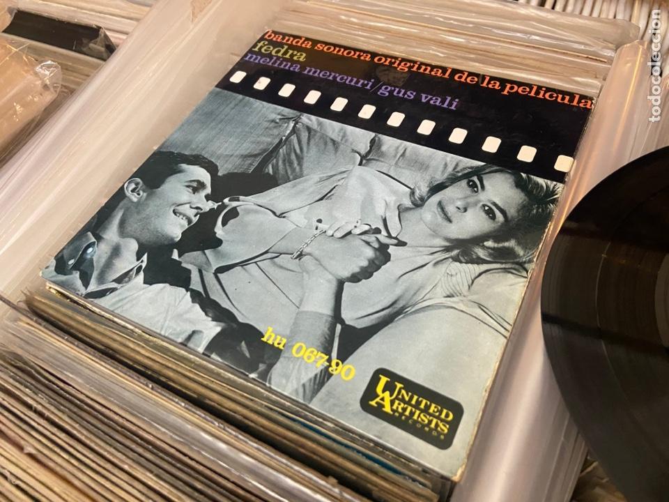 Discos de vinilo: FEDRA - BSO - CANTA MELINA MERCOURI - TEMAS EN FOTO CONTRAPORTADA - SPAIN EP - Foto 6 - 288157823