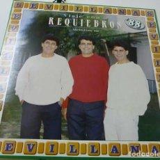 Discos de vinilo: 'MELODÍAS III', DE REQUIEBROS. SEVILLANAS. LP 10 TEMAS. 1988. BUEN ESTADO.. Lote 288157878