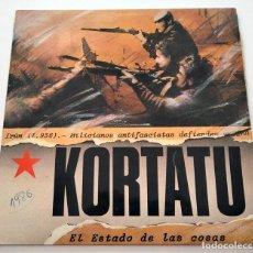 Discos de vinilo: VINILO LP DE KORTATU. EL ESTADO DE LAS COSAS. 1986.. Lote 288159838