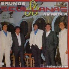 Discos de vinilo: 'AMAPOLA', DE BRUMAS. SEVILLANAS. LP 10 TEMAS. 1986. BUEN ESTADO.. Lote 288160063