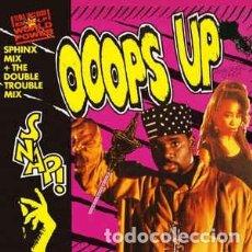 Discos de vinilo: SNAP, OOOPS UP (SPHINX MIX ) - MAXI-SINGLE SPAIN 1990. Lote 288160283