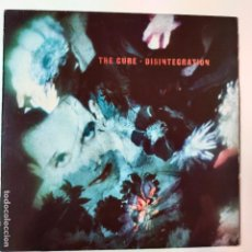 Disques de vinyle: THE CURE- DISINTEGRATION- SPAIN LP 1989.. Lote 288161213