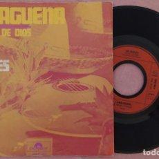 """Discos de vinilo: 7"""" LOS ANGELES - MALAGUEÑA - POLYDOR 2050 260 - NETHERLAND PRESS (EX/EX). Lote 288161268"""
