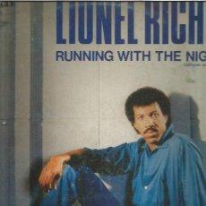 Discos de vinilo: LIONEL RICHIE RUNNING WITH. Lote 288161618