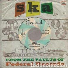Discos de vinilo: SKA: FROM THE VAULTS OF FEDERAL RECORDS. LP VINILO PRECINTADO.. Lote 288162523
