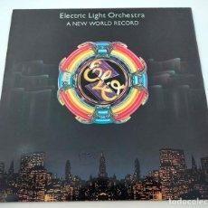 Discos de vinilo: VINILO LP DE ELECTRIC LIGHT ORCHESTRA. A NEW WORLD RECORD. 1976.. Lote 288162598