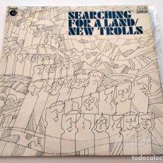 Discos de vinilo: VINILO DOBLE LP NEW TROLLS. SEARCHING FOR A LAND. 1977.. Lote 288164108