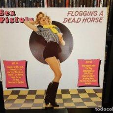 Discos de vinilo: SEX PISTOLS - FLOGGING A DEAD HORSE. Lote 288167033