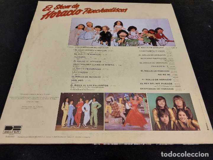 Discos de vinilo: EL SHOW DE HORACIO PINCHADISCOS / CON PARCHIS / LP - BELTER-1981 / MBC. ***/*** - Foto 3 - 288171278