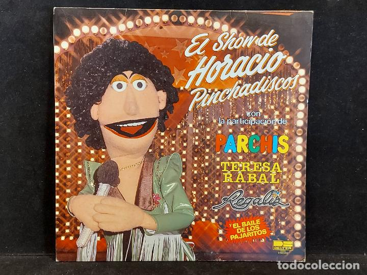 EL SHOW DE HORACIO PINCHADISCOS / CON PARCHIS / LP - BELTER-1981 / MBC. ***/*** (Música - Discos - LPs Vinilo - Música Infantil)