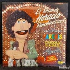 Discos de vinilo: EL SHOW DE HORACIO PINCHADISCOS / CON PARCHIS / LP - BELTER-1981 / MBC. ***/***. Lote 288171278