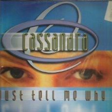 Discos de vinilo: CASSANDRA JUST TELL ME. Lote 288171398