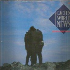 Discos de vinilo: CACTUS WORLD NEWS WORLDS APART. Lote 288171693