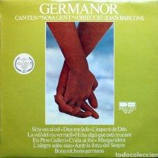 Discos de vinilo: LP GERMANOR CANTEN NOVA GENT. Lote 288181963