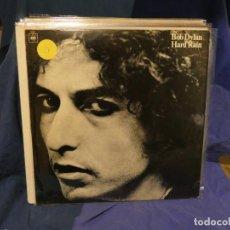 Discos de vinilo: LOTT133-140 LP BOB DYLAN HARD RAIN ISRAEL 1978 MUY BUEN ESTADO GENERAL. Lote 288182908