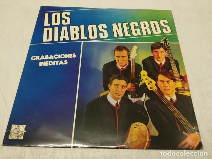 LOS DIABLOS NEGROS - GRABACIONES INÉDITAS (Música - Discos - LP Vinilo - Grupos Españoles 50 y 60)