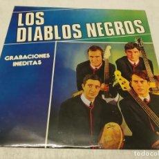 Discos de vinilo: LOS DIABLOS NEGROS - GRABACIONES INÉDITAS. Lote 288192763
