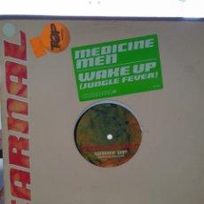 Discos de vinilo: MEDICINE MAN: WAKE UP.. Lote 288196178
