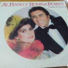 """Discos de vinilo: DISCO VINILO LP ALBANO Y ROMINA POWER """"CANTAN EN ESPAÑOL"""". Lote 288206708"""