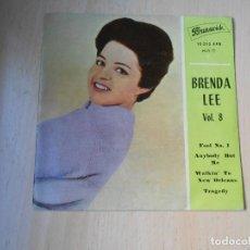 Discos de vinilo: BRENDA LEE, EP, FOOL NO. 1 + 3, AÑO 1962. Lote 288207763