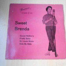 Discos de vinilo: BRENDA LEE - SWEET -, EP, SWEET NOTHIN´S + 3, AÑO 1960. Lote 288209518