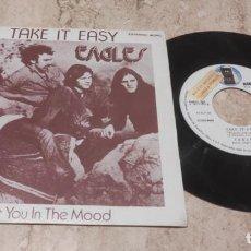 Dischi in vinile: EAGLES - TAKE IT EASY / GET YOU IN THE MOOD/ SINGLE PROMOCIONAL-ESPAÑA- EMI 1972 EXCELENTE. Lote 288211153