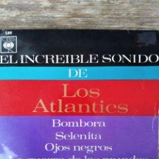 Discos de vinilo: THE ATLANTICS - BOMBORA + 3 ********* RARO EP EDICIÓN ESPAÑOLA SURF AMERICANO 1964. Lote 288212263