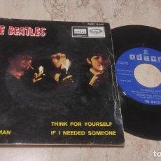 Discos de vinilo: THE BEATLES 7´EP GIRL + 3 (1966) PRIMERA EDICION ORIGINAL-EPAÑA-LABEL AZUL OSCURO-DSOE 16690. Lote 288213268