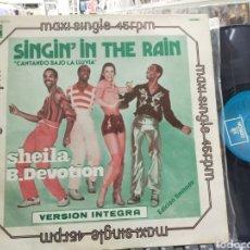 Discos de vinilo: SHEILA B. DEVOTION MAXI SINGIN' IN THE RAIN ESPAÑA 1978. Lote 288214228