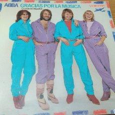 "Disques de vinyle: DISCO VINILO LP ABBA ""GRACIAS POR LA MUSICA"". Lote 288219418"