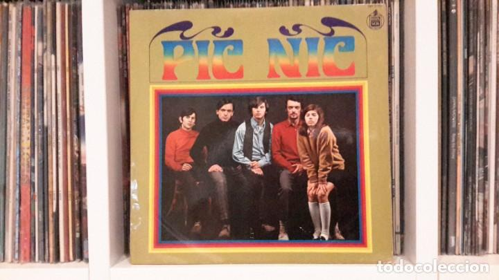 PIC NIC - ORIGINAL 1968 (Música - Discos - LP Vinilo - Grupos Españoles 50 y 60)