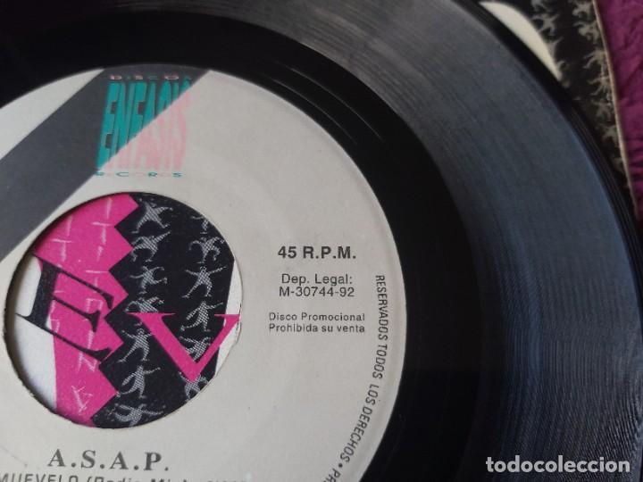 """Discos de vinilo: ASAP – Muevelo , Vinyl, 7"""" Single Spain 1992 ENFAS-106 PROMO - Foto 4 - 288310508"""