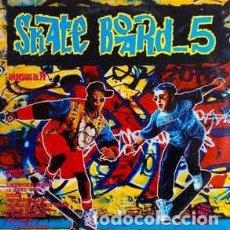 Discos de vinilo: SKATE BOARD 5 - DOBLE LP COMPILATION, PARTIALLY MIXED SPAIN 1993. Lote 288311558