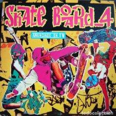 Discos de vinilo: SKATE BOARD 4 - DOBLE LP COMPILATION, PARTIALLY MIXED SPAIN 1992. Lote 288311738