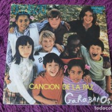 """Discos de vinilo: GARABATOS – CANCIÓN DE LA PAZ VINYL, 7"""" SINGLE 1971 SPAIN 3-10669. Lote 288312948"""