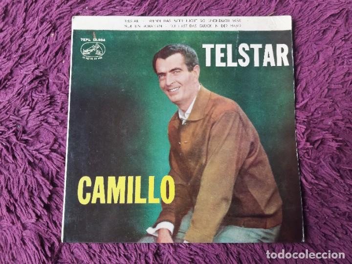 """CAMILLO – TELSTAR ,VINYL, 7"""" EP 1963 SPAIN 7EPL 13.934 (Música - Discos de Vinilo - EPs - Pop - Rock Internacional de los 50 y 60)"""