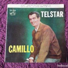 "Discos de vinilo: CAMILLO – TELSTAR ,VINYL, 7"" EP 1963 SPAIN 7EPL 13.934. Lote 288318378"