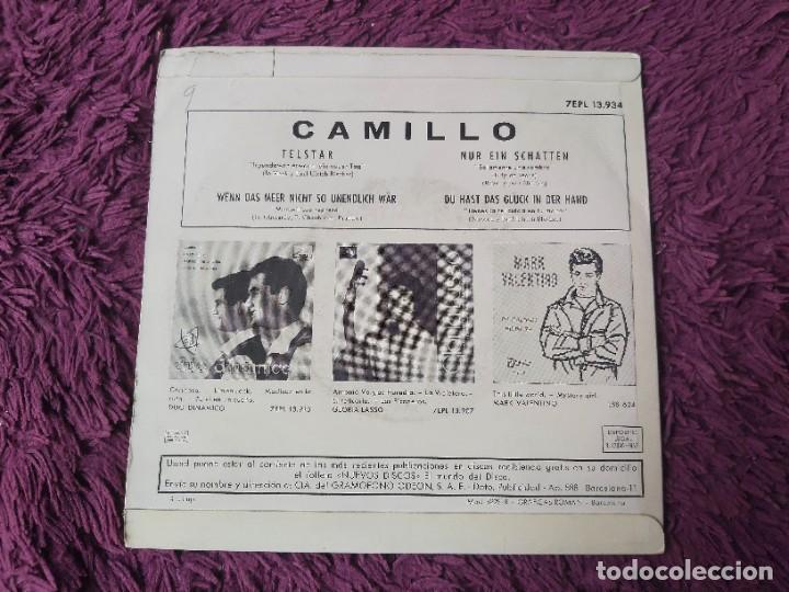 "Discos de vinilo: Camillo – Telstar ,Vinyl, 7"" EP 1963 Spain 7EPL 13.934 - Foto 2 - 288318378"