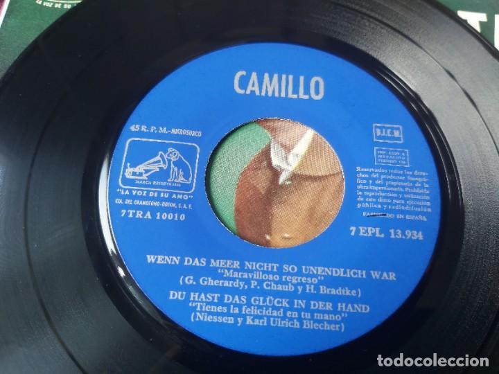 "Discos de vinilo: Camillo – Telstar ,Vinyl, 7"" EP 1963 Spain 7EPL 13.934 - Foto 3 - 288318378"