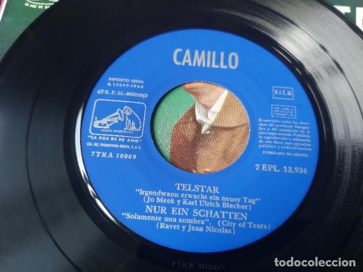 "Discos de vinilo: Camillo – Telstar ,Vinyl, 7"" EP 1963 Spain 7EPL 13.934 - Foto 5 - 288318378"