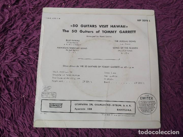 "Discos de vinilo: The 50 Guitars Of Tommy Garrett – 50 Guitars Visit Hawaii ,Vinyl, 7"" EP 1963 Spain LEP 2078 L - Foto 2 - 288319723"