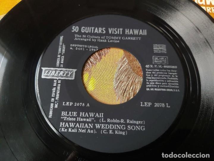 "Discos de vinilo: The 50 Guitars Of Tommy Garrett – 50 Guitars Visit Hawaii ,Vinyl, 7"" EP 1963 Spain LEP 2078 L - Foto 3 - 288319723"