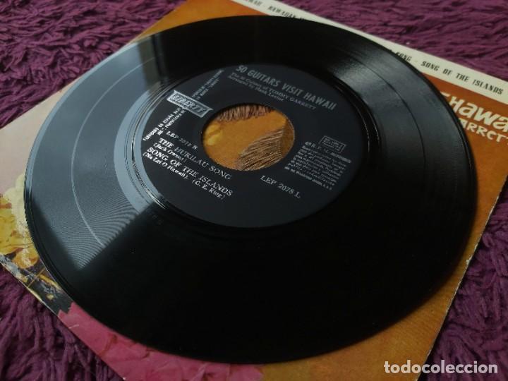 "Discos de vinilo: The 50 Guitars Of Tommy Garrett – 50 Guitars Visit Hawaii ,Vinyl, 7"" EP 1963 Spain LEP 2078 L - Foto 6 - 288319723"