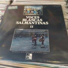 Discos de vinilo: VOCES BLANCAS SALMANTINAS–II . LP VINILO + LIBRETO. BUEN ESTADO. MÚSICA CHARRA.. Lote 288319793