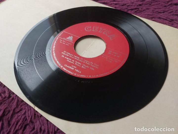 """Discos de vinilo: Claudio Villa – Binario,Vinyl, 7"""" EP 1959 Spain CP-1033 - Foto 7 - 288321588"""