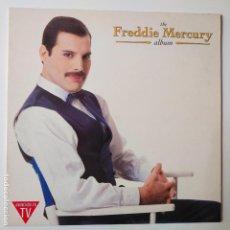 Discos de vinilo: FREDDIE MERCURY- THE ALBUM- SPAIN LP 1992 + INSERT- QUEEN- EXC. ESTADO.. Lote 288322108