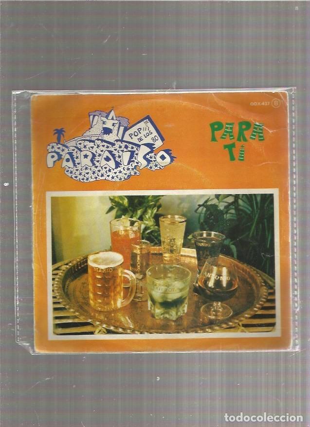 PARAISO PARA TI (Música - Discos - Singles Vinilo - Grupos Españoles de los 70 y 80)